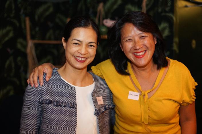 Hien de LESTRANGE et Mai Lam NGUYEN CONAN - Membre C100 - ASEAN